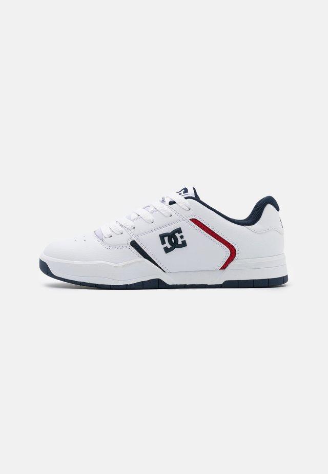 CENTRAL - Scarpe skate - white/blue