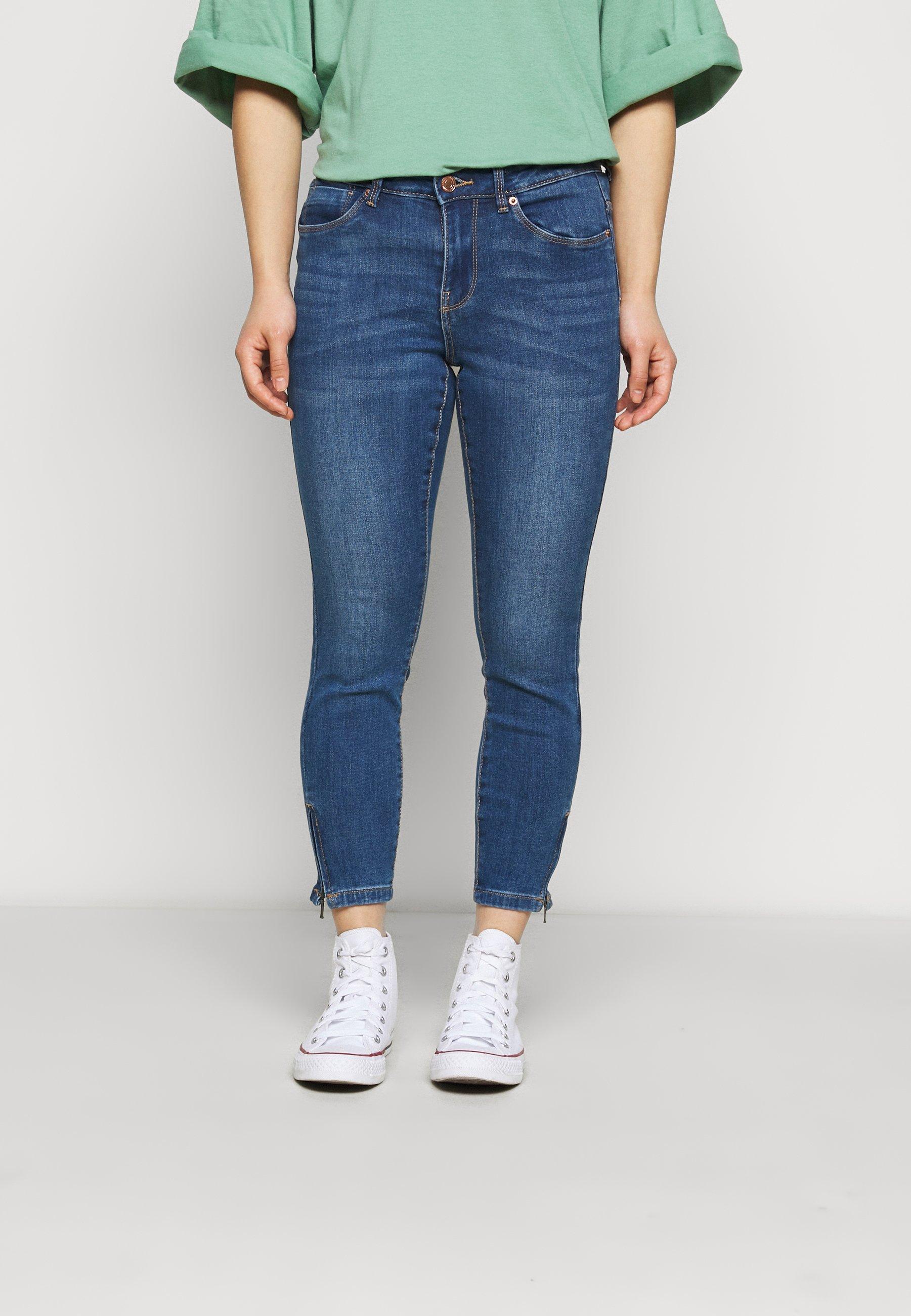 Women VMTILDE ZIP PETIT - Slim fit jeans