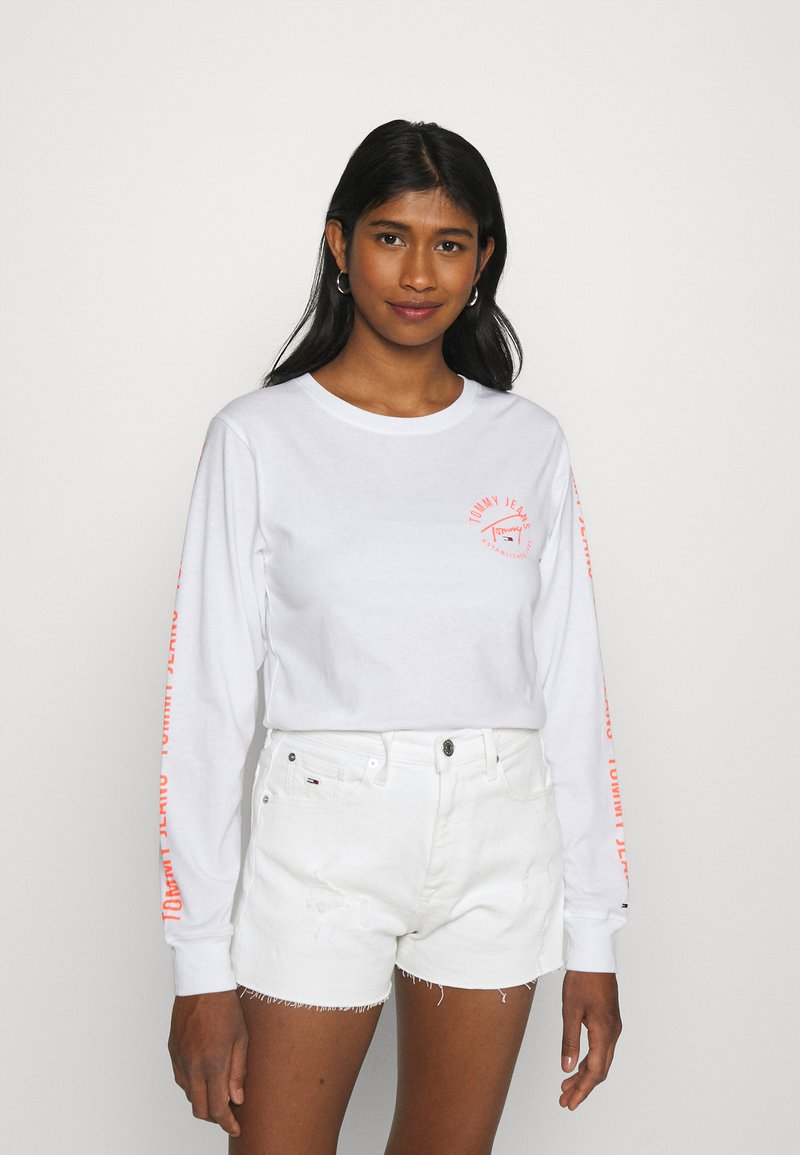 Tommy Jeans - Long sleeved top - white