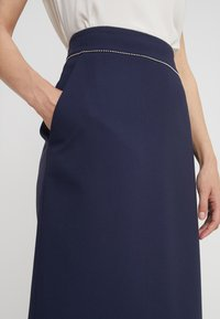 HUGO - RINDIA - A-line skirt - open blue - 4