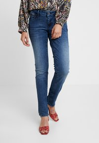 Mavi - LINDY - Slim fit jeans - deep ocean glam - 0