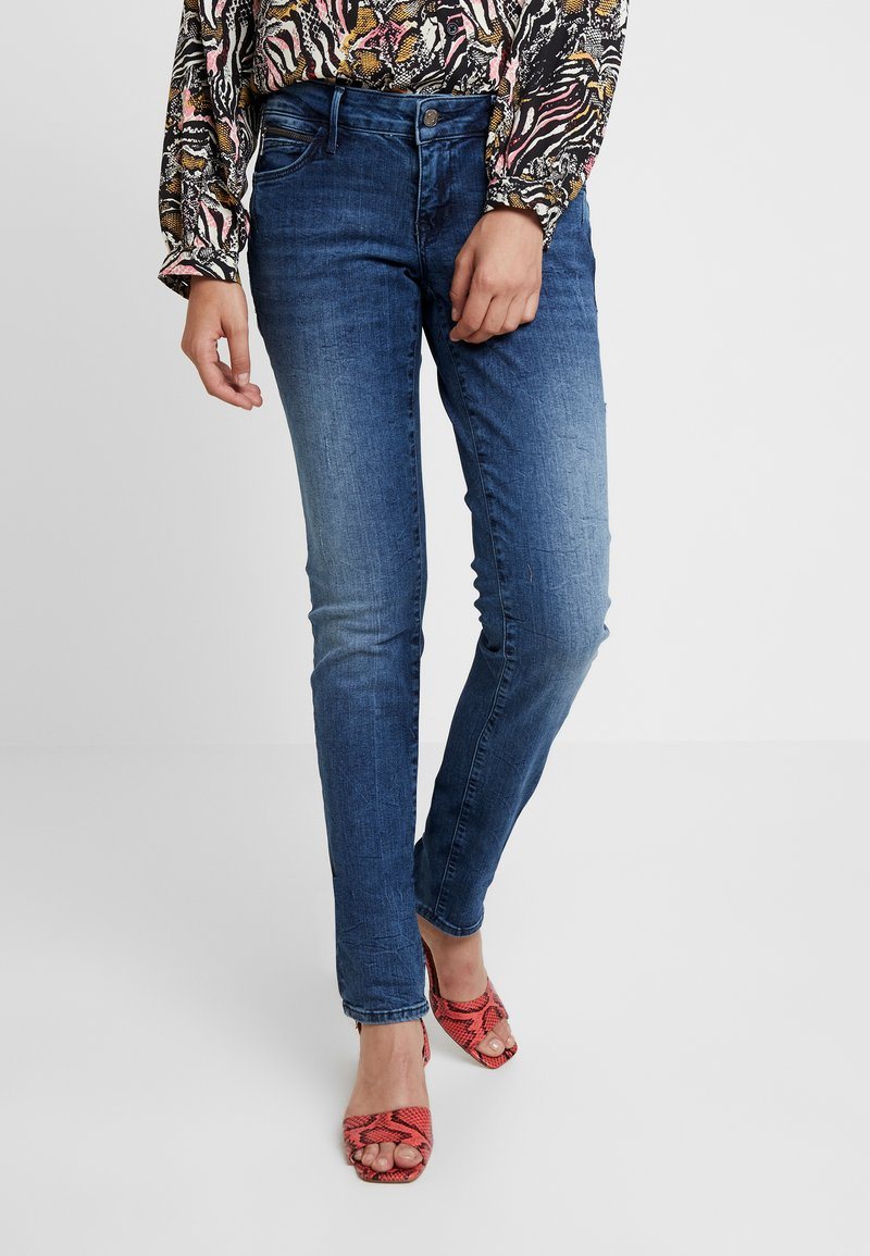 Mavi - LINDY - Slim fit jeans - deep ocean glam