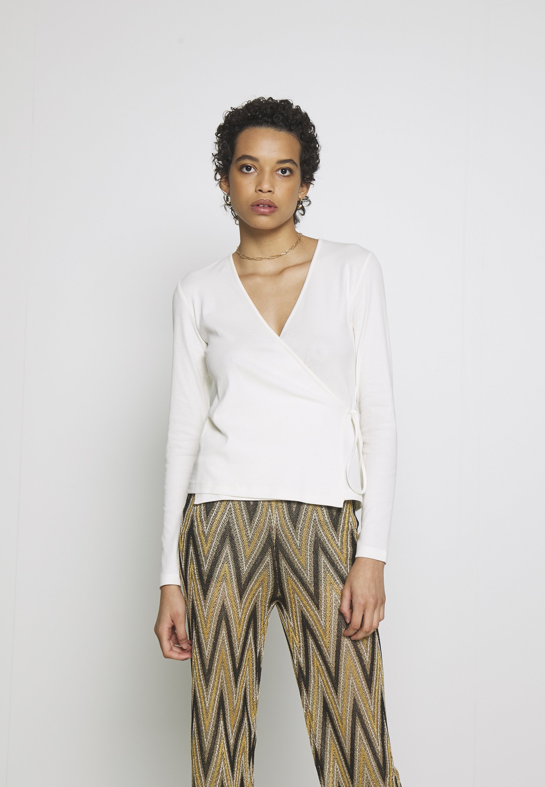 Women SARAIWRAP - Long sleeved top