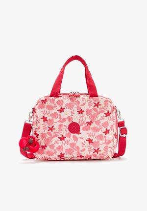 Weekend bag - pink leaves