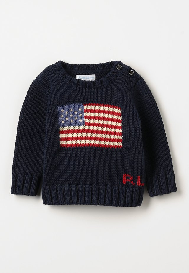 FLAG BABY - Jumper - hunter navy