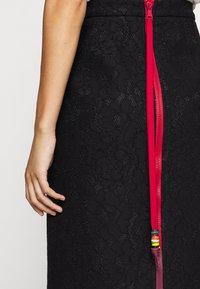 N°21 - Pencil skirt - black - 3