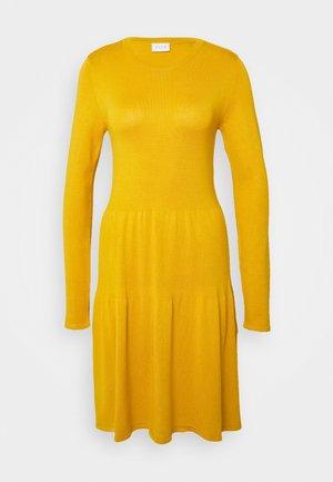 VIBOLONSIA - Jumper dress - mineral yellow