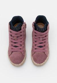 Geox - KALISPERA GIRL - Sneakersy wysokie - rose smoke - 3