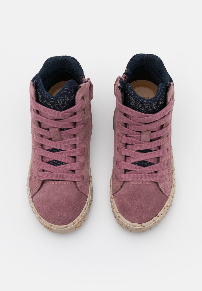 Venta anticipada Perth Blackborough Cornualles  Geox KALISPERA GIRL - High-top trainers - rose smoke/light pink -  Zalando.co.uk