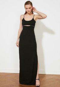 Trendyol - PARENT - Maxi dress - black - 1