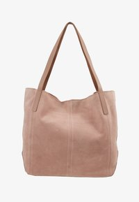Anna Field - LEATHER - Shopping bag - rose - 1