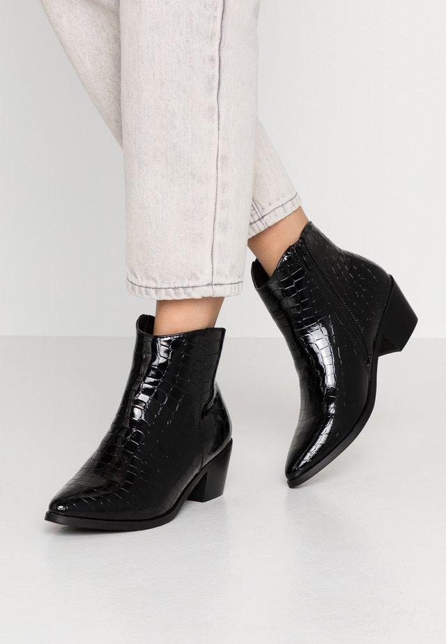 PSHELEN - Boots à talons - black
