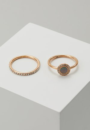 CLASSICS 2 PACK - Anillo - roségold-coloured