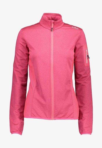 Fleece jacket - gloss