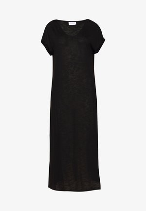 VINOEL - Jersey dress - black