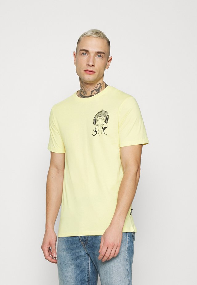 UNISEX - T-shirt med print - yellow