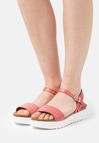 Grand Step Shoes - EDEN - Platform sandals - rosita - 0