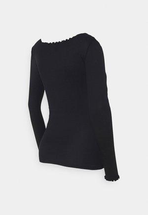 LETTUCE - Maglietta a manica lunga - black