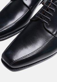 SHOEPASSION - NO. 5571 - Smart lace-ups - black - 4