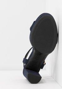 New Look - QUEEN - Sandály na vysokém podpatku - navy - 6