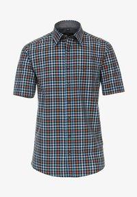 Casamoda - COMFORT FIT  KURZARM  - Shirt - blau - 0