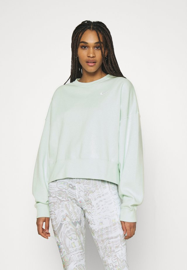 CREW TREND - Sweatshirt - barely green/white