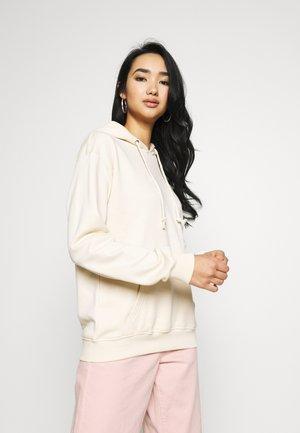 BASIC HOODY - Bluza z kapturem - beige