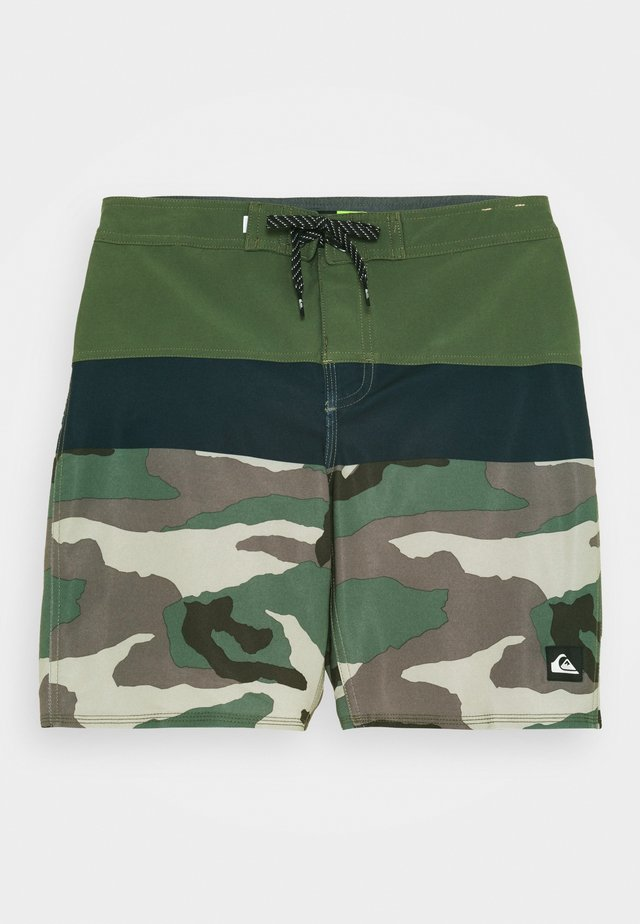 SURFSILK PANEL - Swimming shorts - thyme