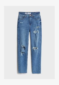 Bershka - Relaxed fit jeans - blue denim - 4