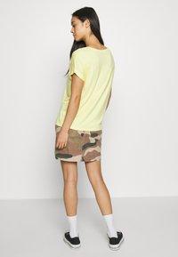 ONLY - ONLFAVOURITE SKIRT  - A-line skirt - kalamata/camo - 2