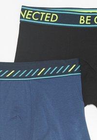 Sanetta - TEENS 2 PACK - Boxerky - super black/blue - 3