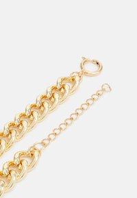 Urban Classics - PLATE NECKLACE UNISEX - Smykke - gold-coloured - 1