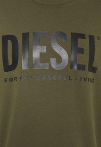 Diesel - GIR DIVISION LOGO - Sweatshirt - olive - 2