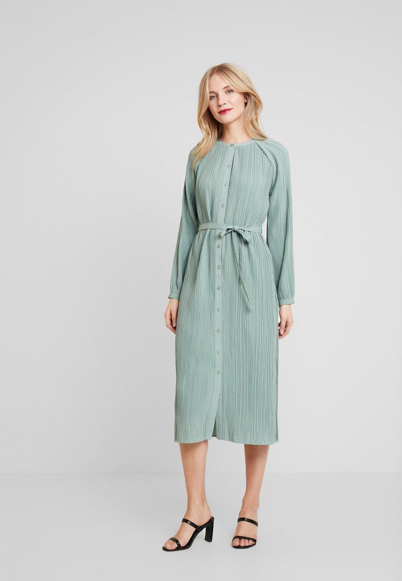 Love Copenhagen - INES PLEATED DRESS - Day dress - faded green