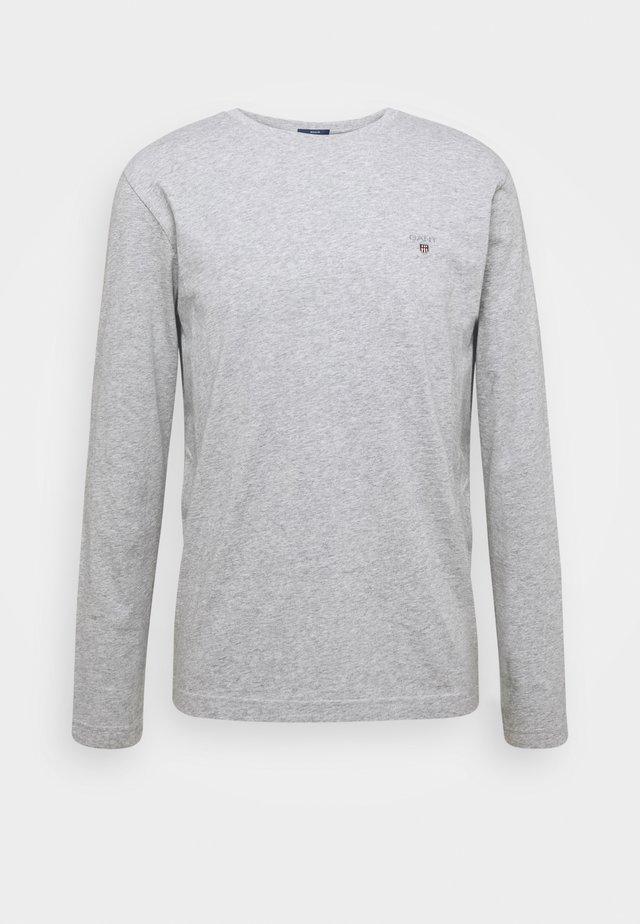 THE ORIGINAL - Long sleeved top - light grey melange