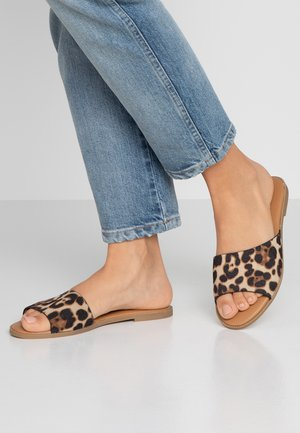 TAKAYA VEGAN - Pantofle - brown/multicolor
