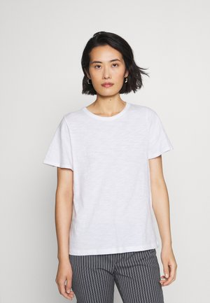 SLUB  - T-shirt basic - fresh white