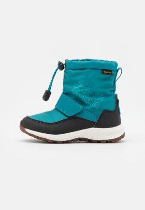 WOODLAND TEXAPORE WT MID VC UNISEX - Zimní obuv - turquoise/phantom