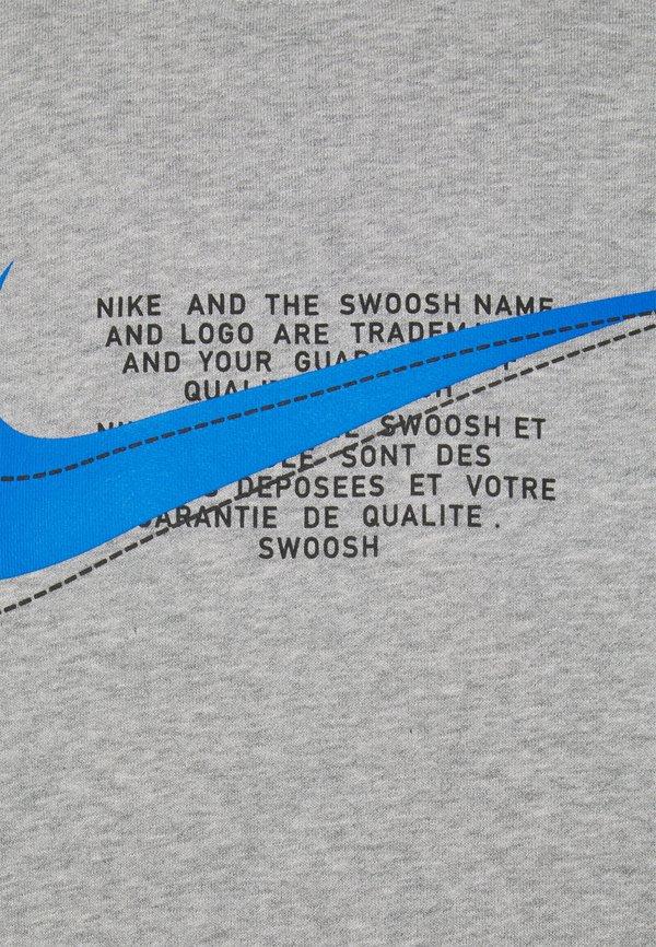 Nike Sportswear COURT CREW - Bluza - grey heather/szary Odzież Męska SBSM