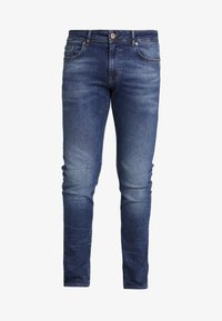 Pier One - Slim fit jeans - blue denim - 4
