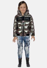 Cipo & Baxx - Winter jacket - silver - 1
