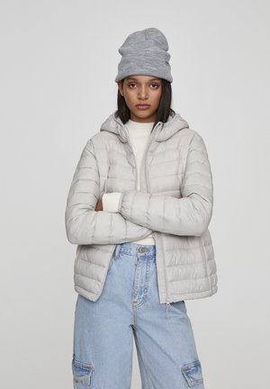 Winter jacket - mottled light grey