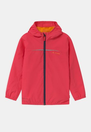 KIDS TURACO UNISEX - Waterproof jacket - bright pink