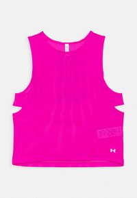 Under Armour - MUSCLE TANK - Sports shirt - meteor pink - 4