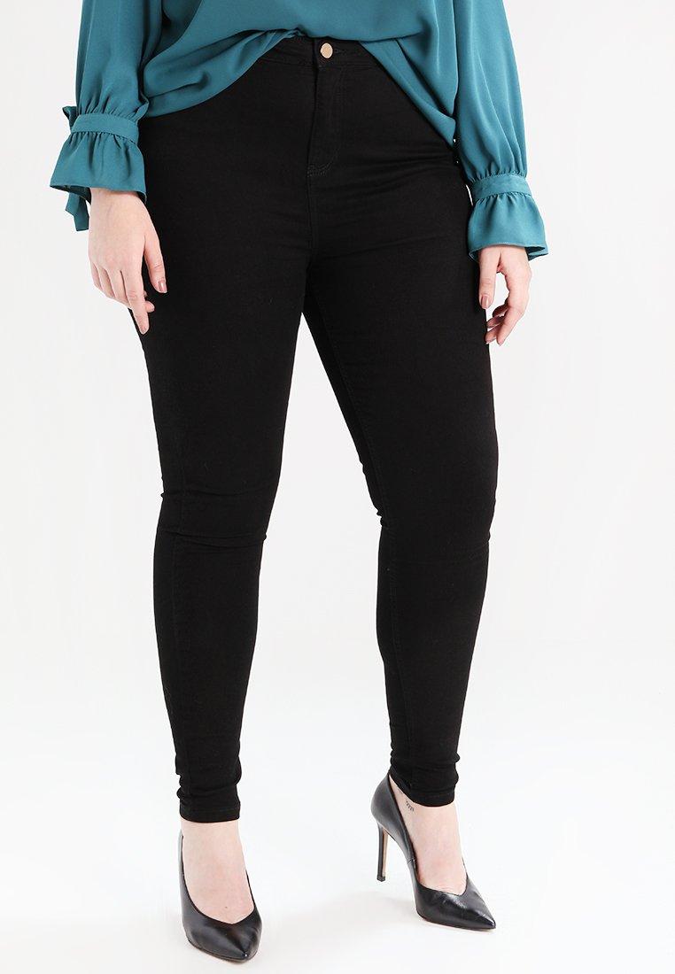 Dorothy Perkins Curve - Jeans Skinny - black
