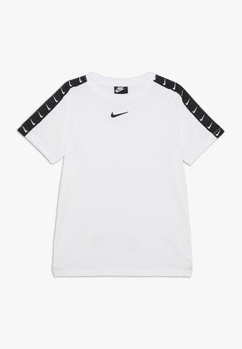 TEE TAPE - Print T-shirt - white