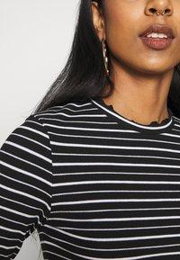Even&Odd - Long sleeved top - black/white - 5