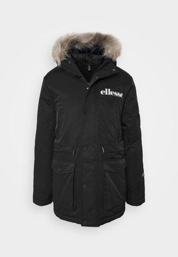 MAZZO - Zimní kabát - black