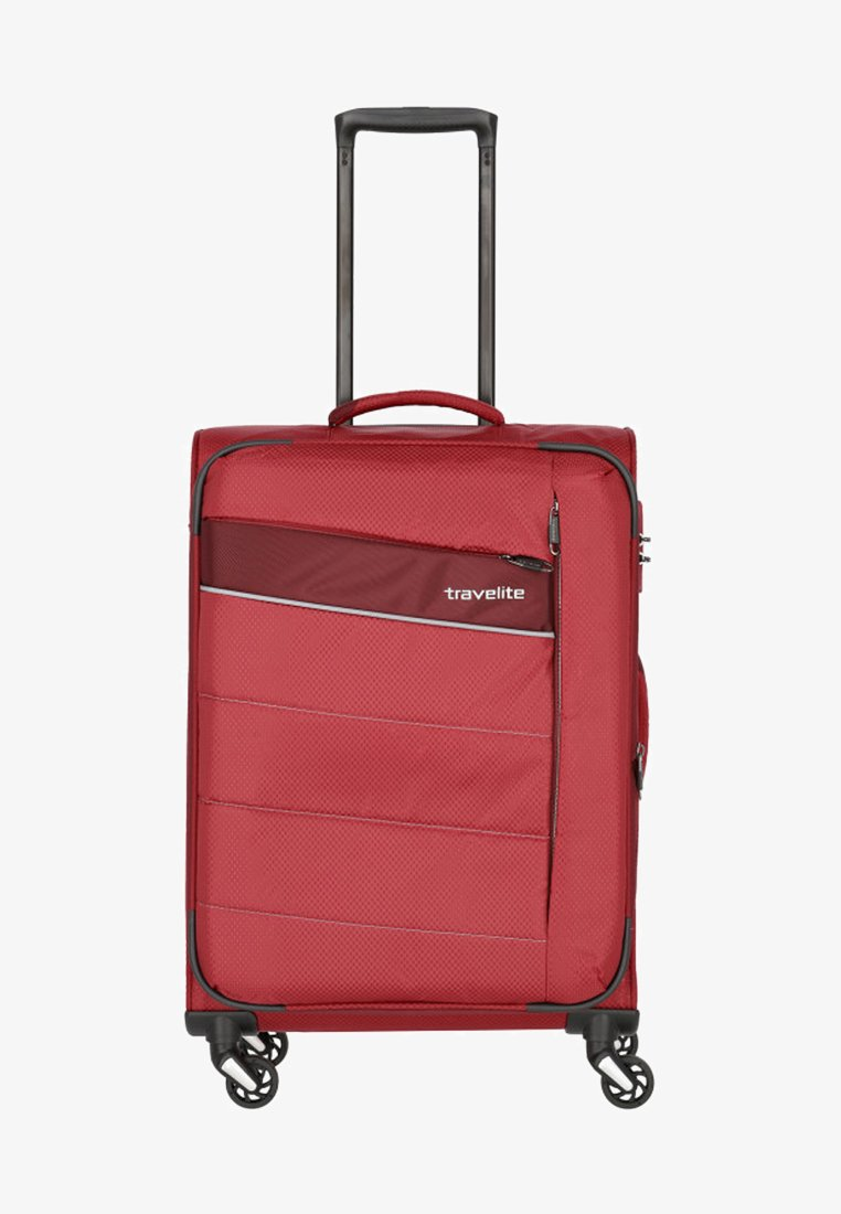 Travelite - KITE M - Wheeled suitcase - red