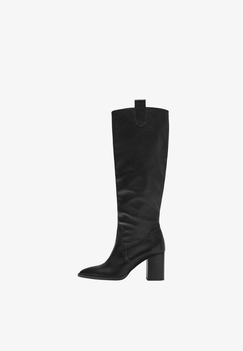 Uterqüe - High heeled boots - black